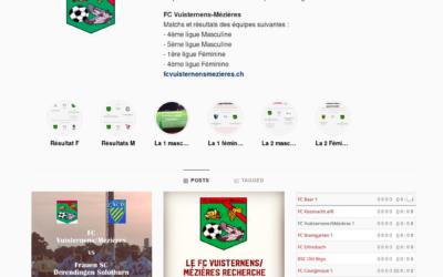 Suivez le FC Vuisternens/Mézières sur Instagram