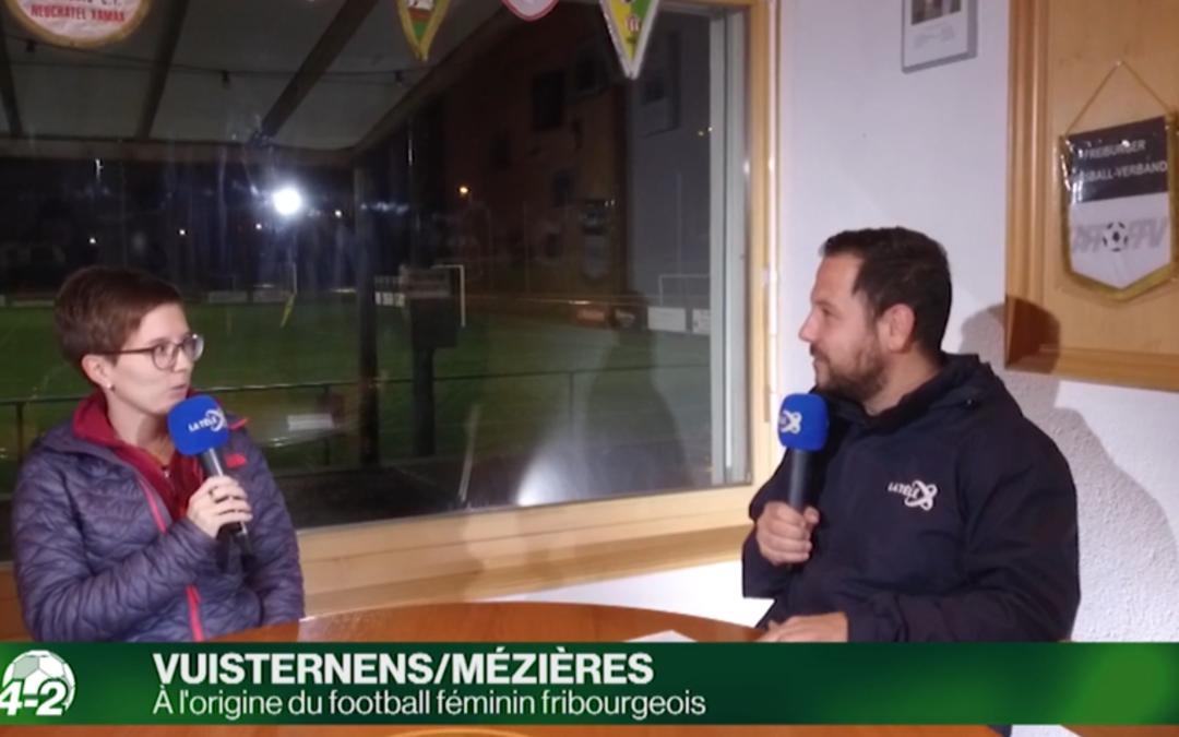Le FC Vuisternens/Mézières sur 4-4-2