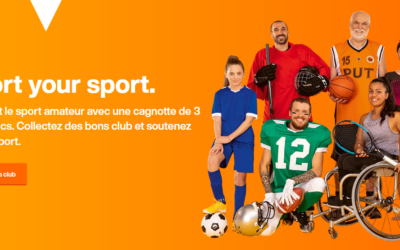 """Opération """"Support your Sport"""" de la Migros"""