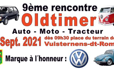 9ème rencontre Oldtimer – Vuisternens-dt-Romont